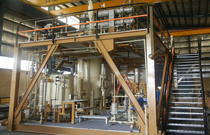 Refinery & Petrochemical plants